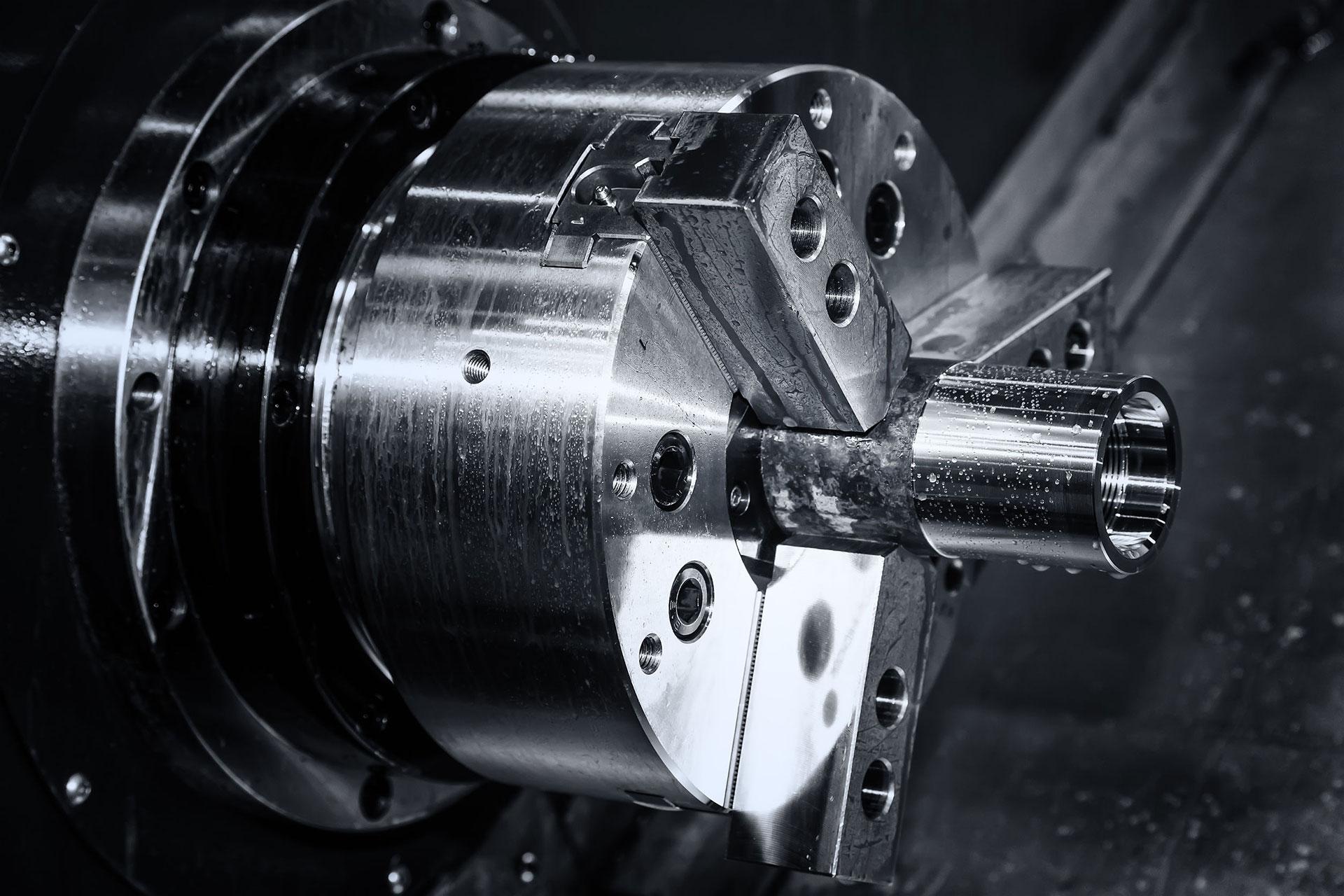 CNC Invest detail sústruhu